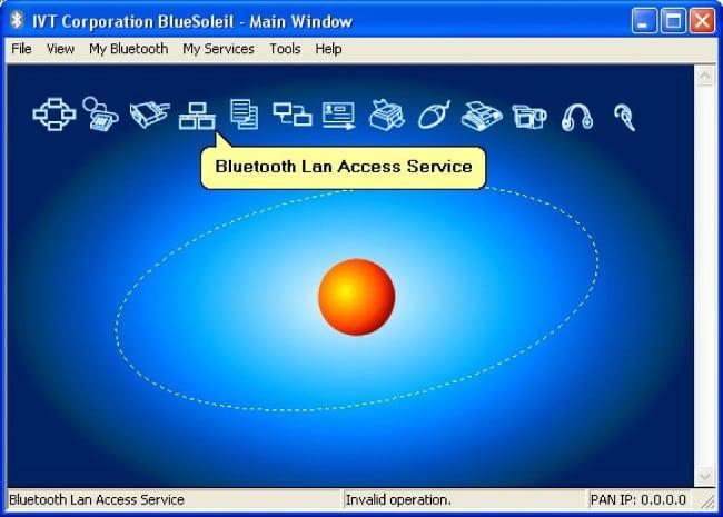 Программа BlueSoleil