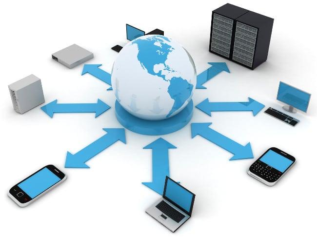 Соединение с сетью различных устройств