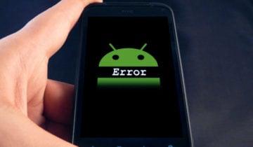 Ошибка Android