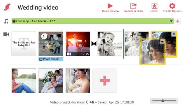 Добавляем видео и музыку в Stupeflix