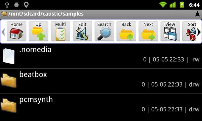 Файл nomedia на Android