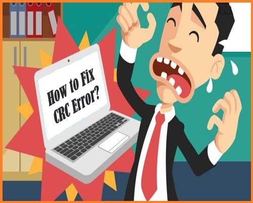Картинка как устранить CRC Error