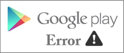 Ошибка в Google Play