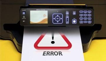 Исправляем ошибку установки принтера на нашем ПК