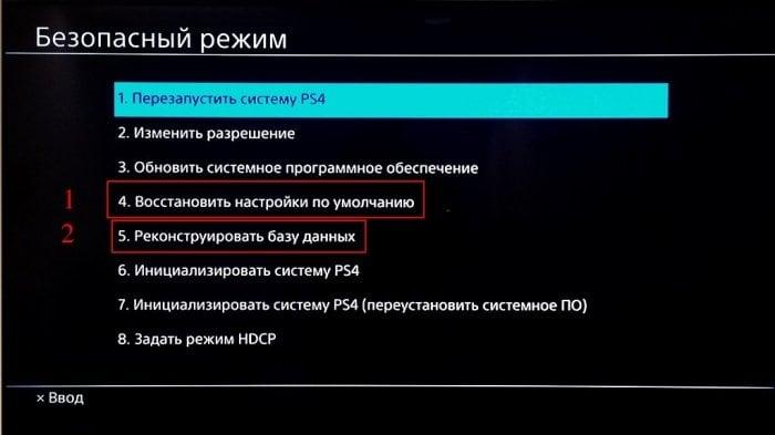 Функции безопасного режима в PS4 в некоторых случаях помогают исправить ошибку WS-37397-9