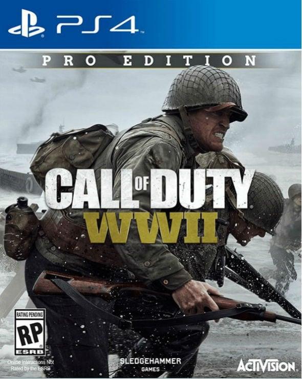 Заставка Callof Duty WWII