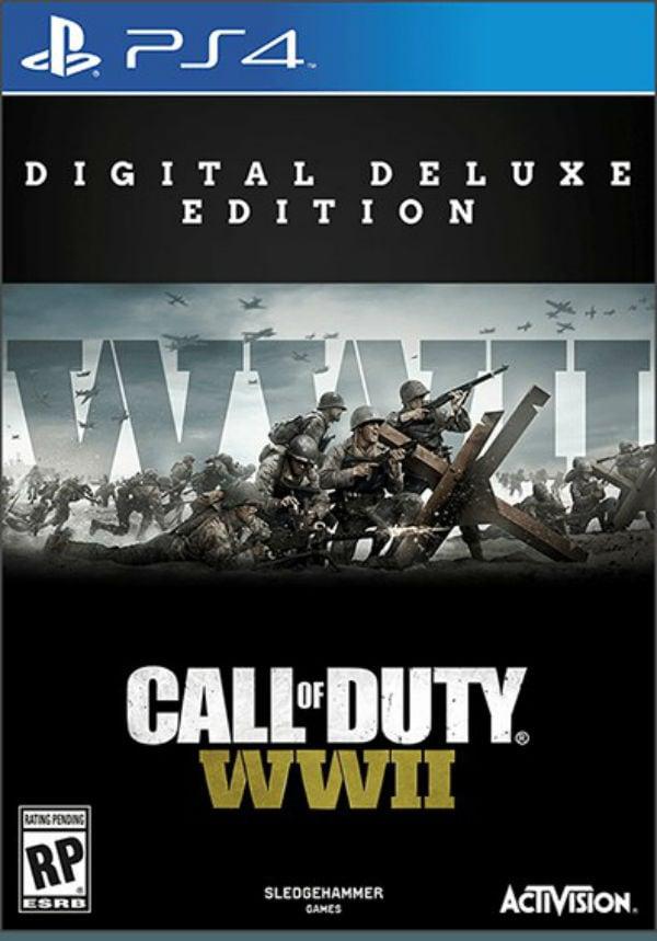 Обложка Call of Duty: WWII