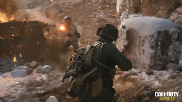 Бой в Call of Duty: WWII