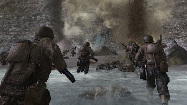 Высадка союзников на побережье Нормандии