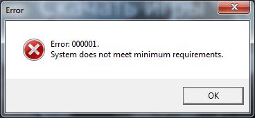 Error 000001