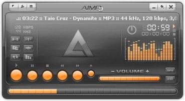 Музыкальный плеер AIMP