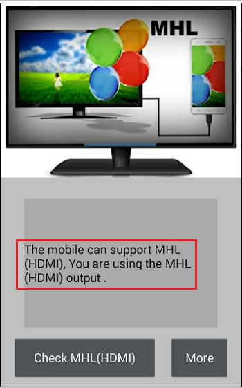 Поддержка MHL