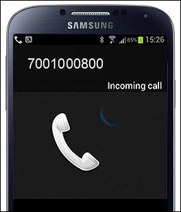 7001000800 звонок
