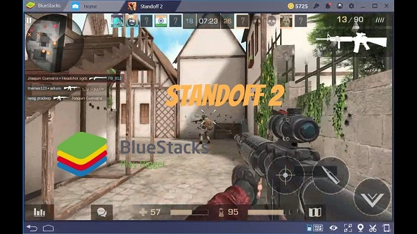 Игра Standoff 2 на Bluestacks