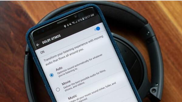 Смартфон с Dolby Atmos