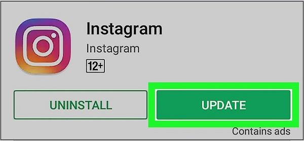 Обновление Инстаграм