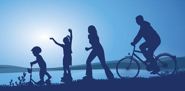 Рисунок семейный отдых