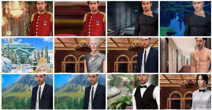 Изображения всех персонажей