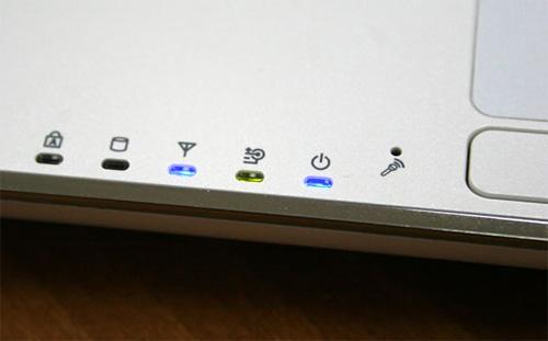 Индикаторы на ноутбуке Asus