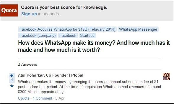 Вопрос и ответ Quora