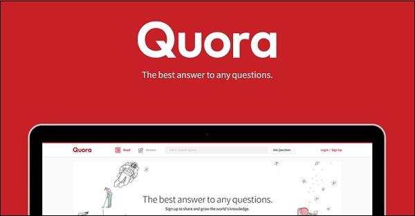 Заставка Quora