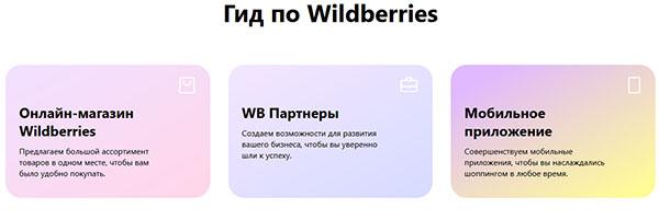 Гид по сайту