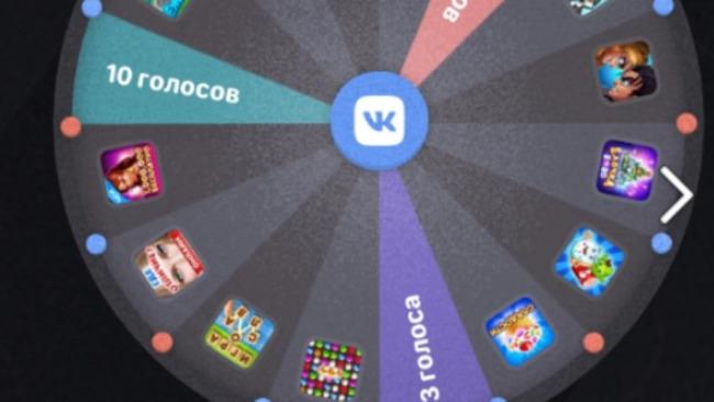 Акция ВКонтакте Колесо Фортуны