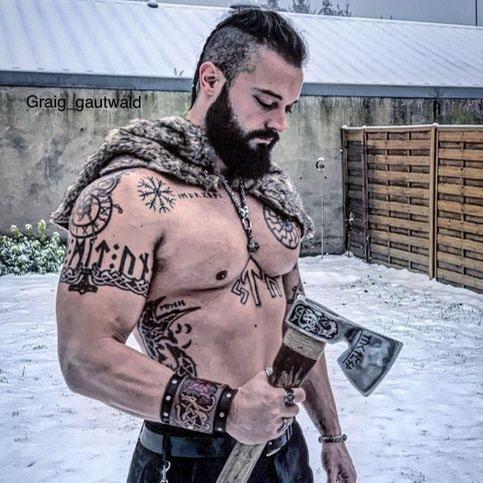 Славянский воин аватарка