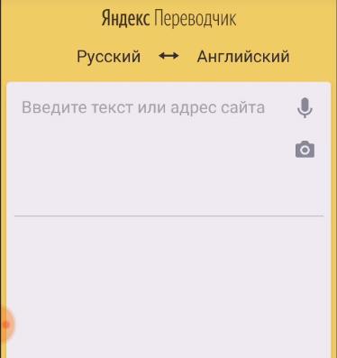 Поле для ввода текста