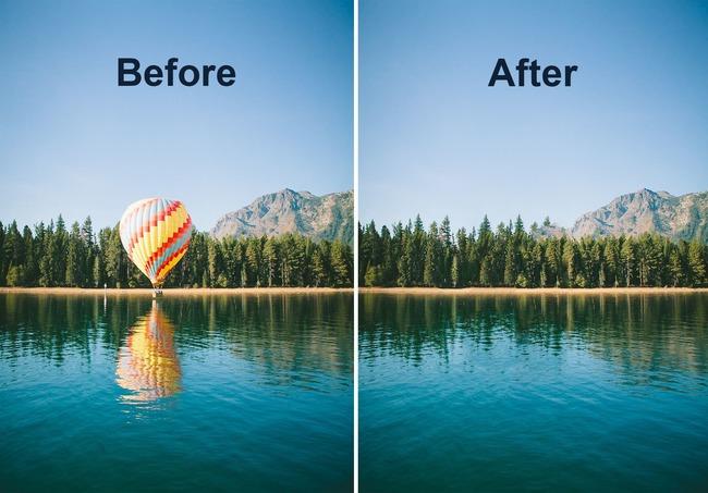 Результаты обработки в редакторе Фотошоп