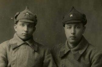 Два бойца РККА
