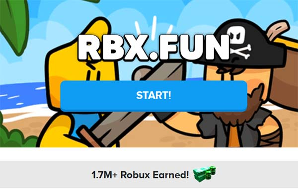 Сайт rbx.fun