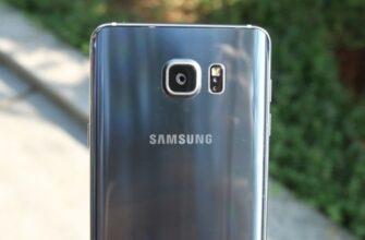 Задняя крышка телефона Самсунг