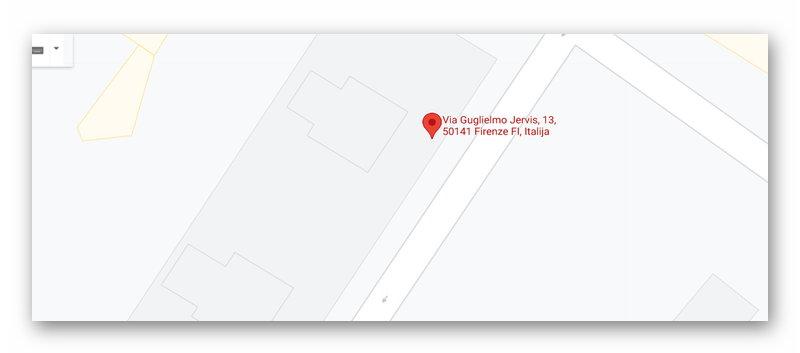 Поиск адреса на картах