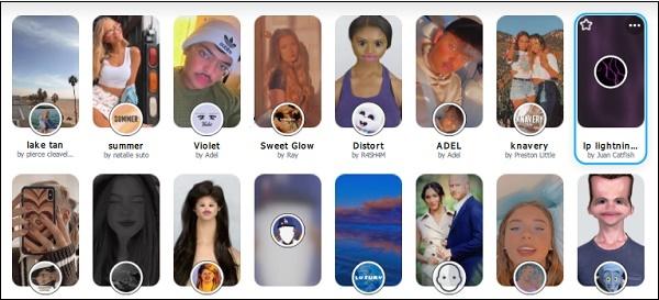 Маски Snap Chat