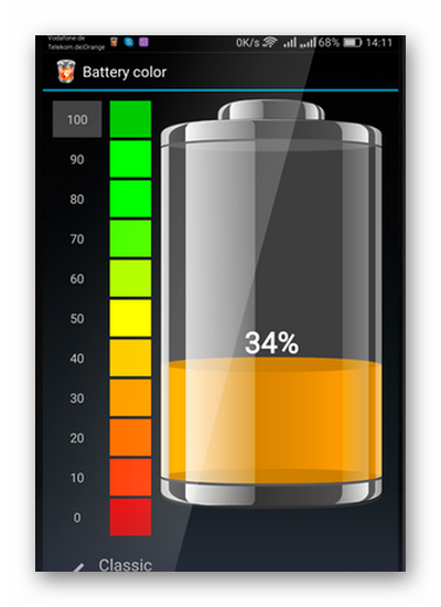 Батарея HD