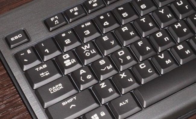 Клавиши F(N) на клавиатуре