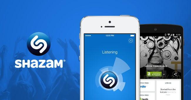 Искать музыку по звуку в Shazam