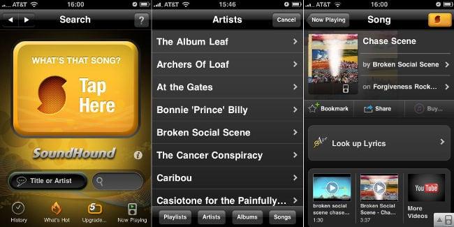 Поиск музыки по звуку в SoundCloud