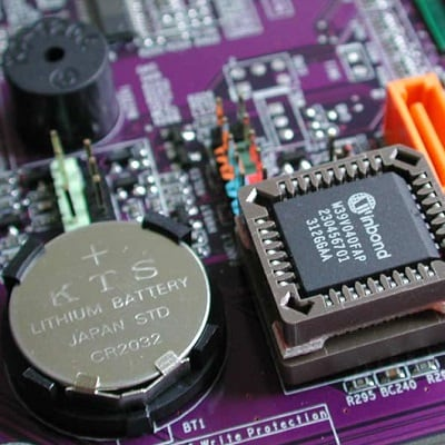 Батарейка в микросхеме