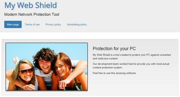 Программа My Web Shield