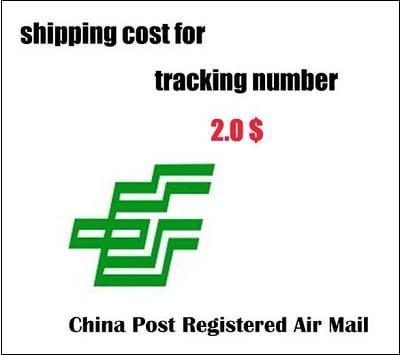 """Плата за трекинг в """"China Post Registered Air Mail"""" обычно составляет 1,8 - 3 доллара США"""
