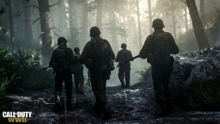 Лесные сражения Call of Duty: WWII