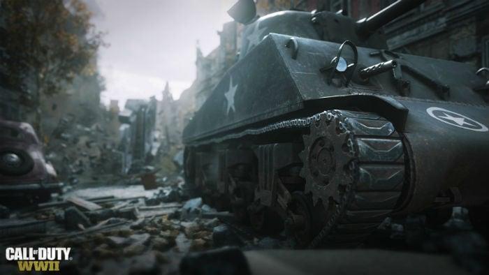 Сражения в Call of Duty: WWII идут повсюду