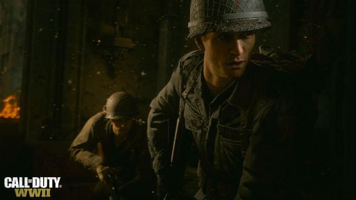 Прохождение одной из миссий Call of Duty: WWI
