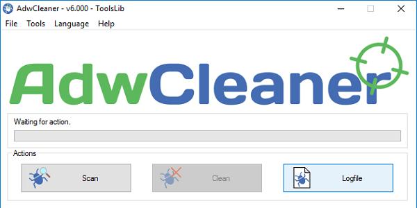 """Используйте """"AdwCleaner"""" для удаления зловредов"""