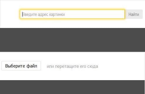 Способы поиска изображения в Яндекс